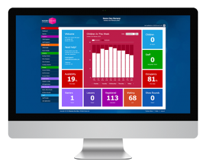 Nursery In a Box Nursery Management Software dashboard